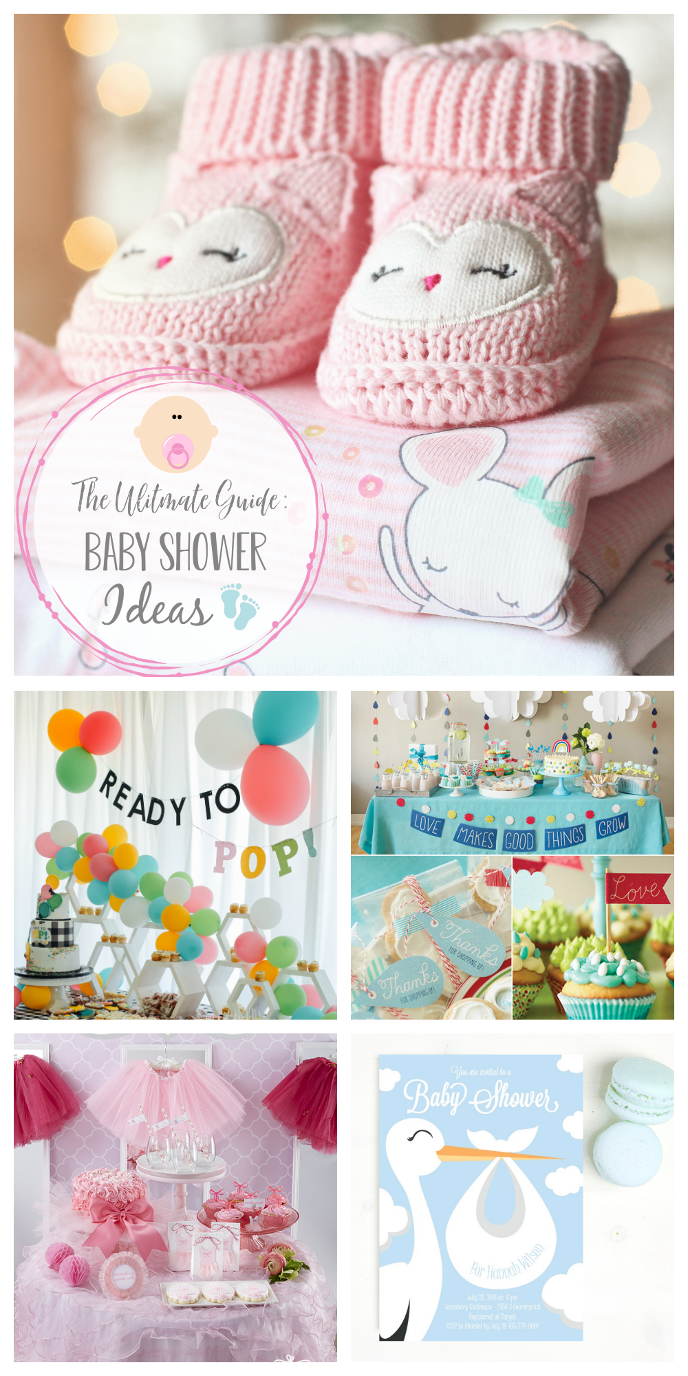 Baby Shower Ideas-Use these fun baby shower themes, decorations, games, favor ideas and more to plan a killer baby shower! So many baby shower ideas for you! #babyshower #babyshowerideas #babyshowers #baby #party