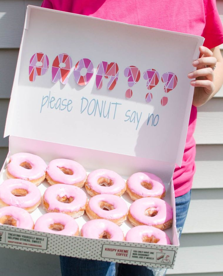 Donut Promposal Idea