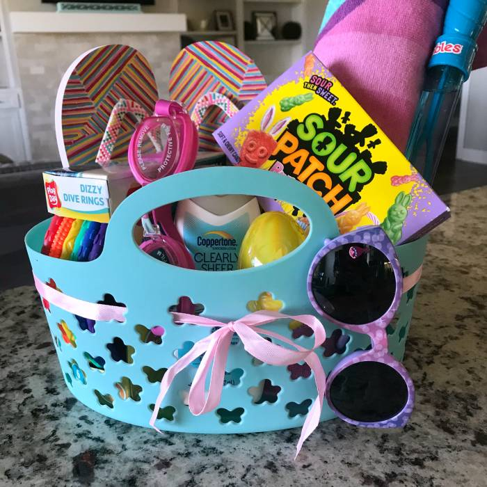 Summer Themed Basket