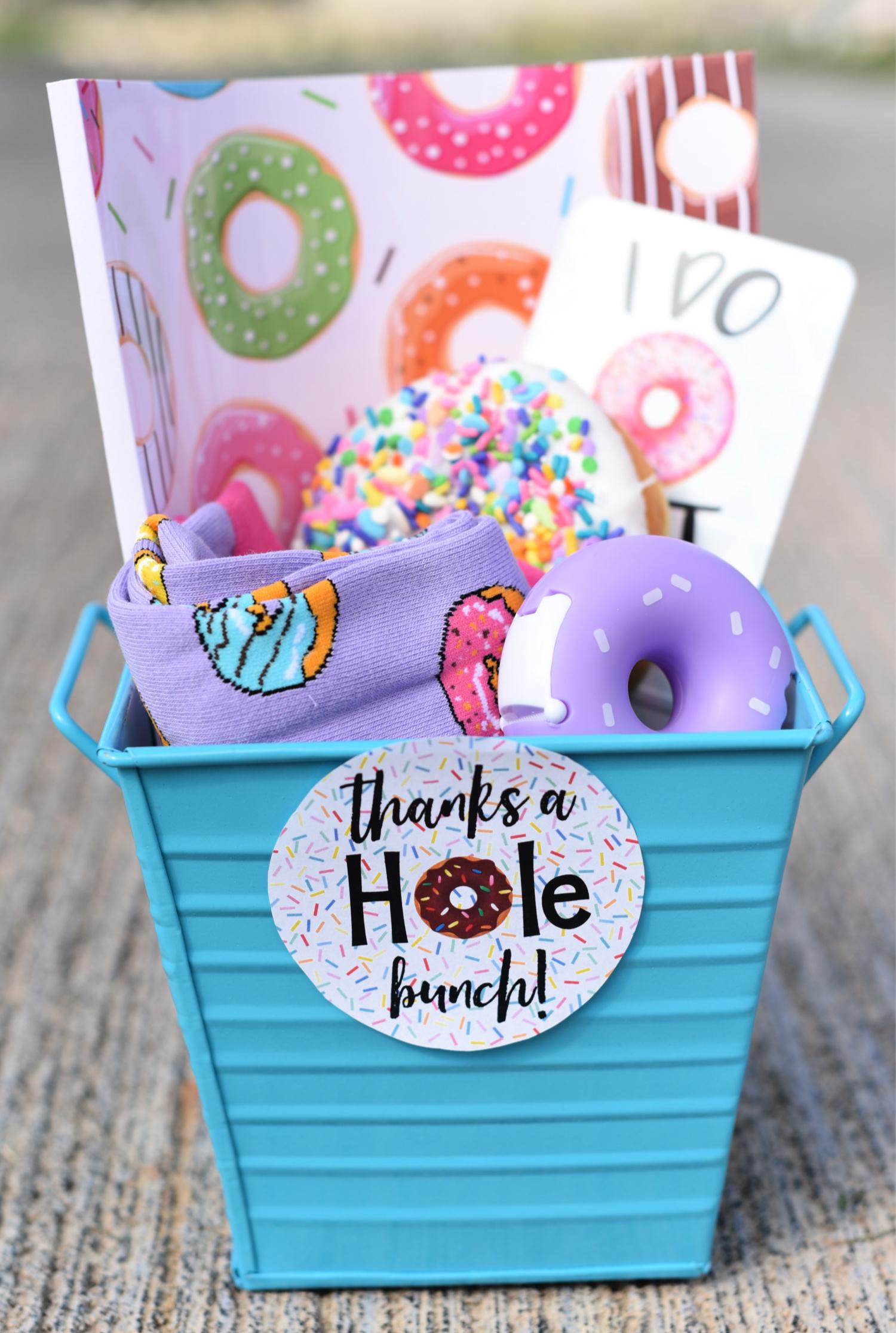 Donut Thank You Gift Idea