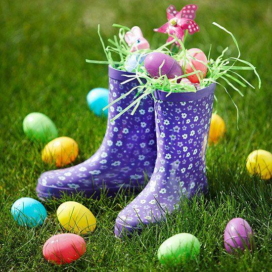 Rain Boots Basket