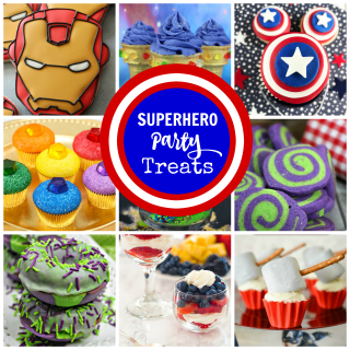 Superhero Party Treats