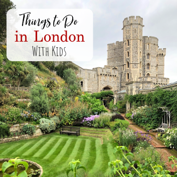 Things to do in London with Kids Feature