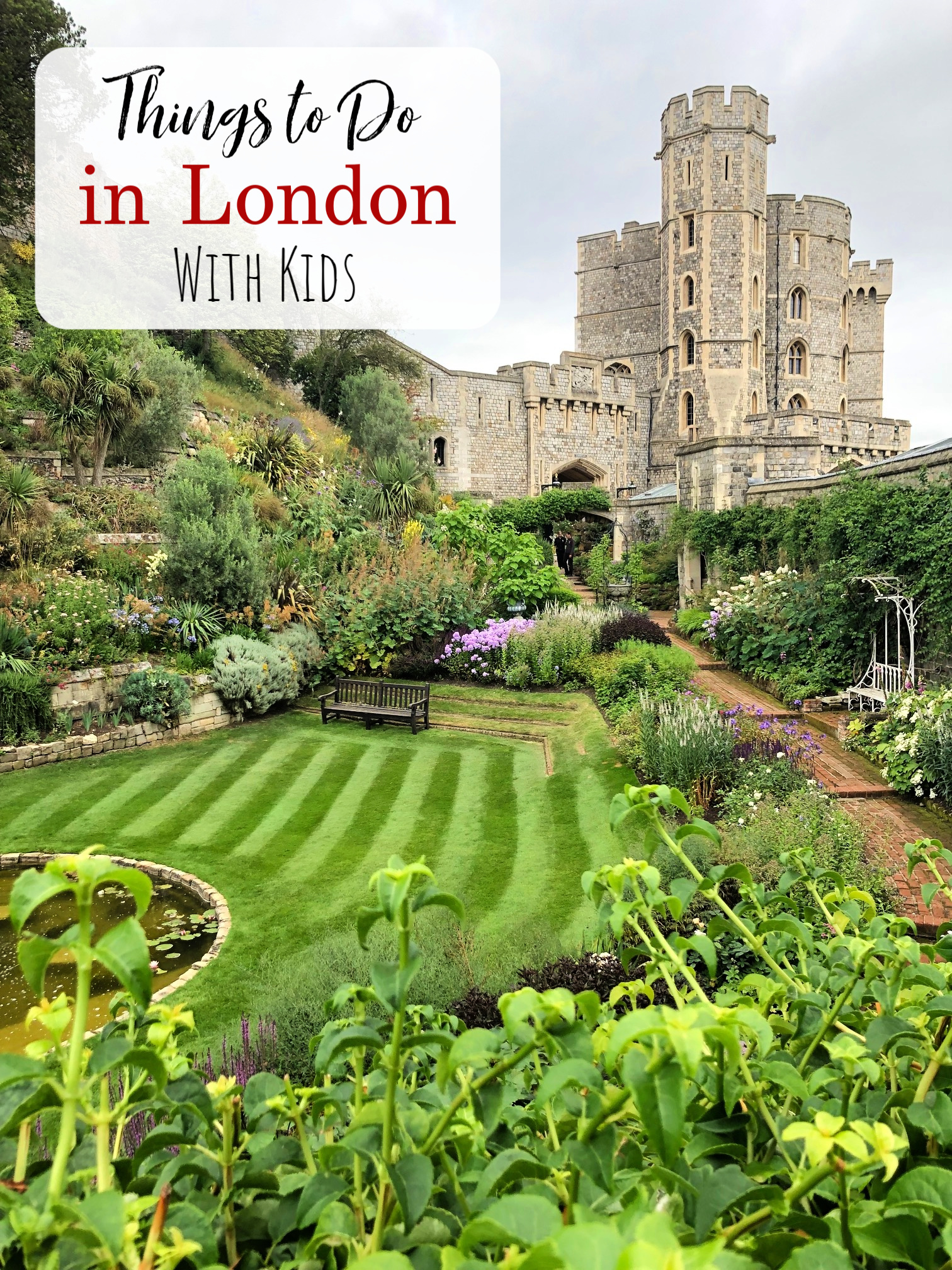 Things to do in London with Kids-If you're planning a trip to England, these places to visit and things to see in London (and the countryside) are going to help you make the most of your trip. #travel #London #travelwithkids #traveltips #vacation #England