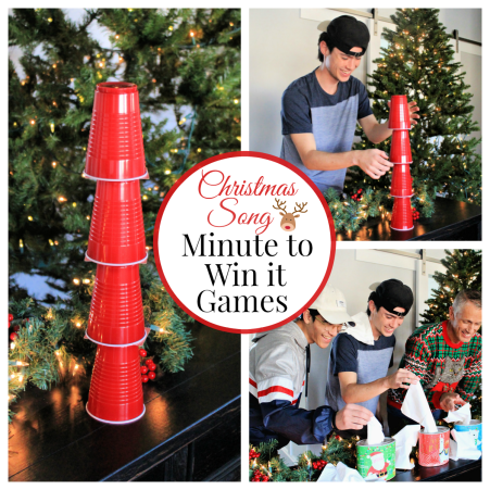 Christmas Song Minute to Win it Games