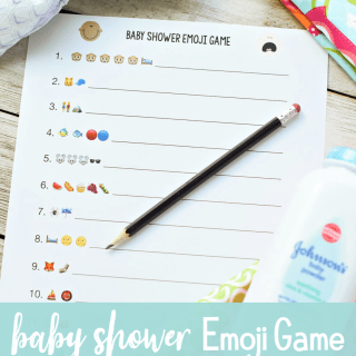 Baby Shower Game: Guess the kids' classic nursery rhyme or book with these fun emojis! First one done wins! #babyshower #babyshowergames