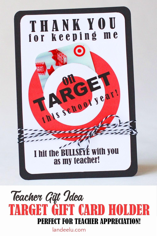 Target Gift Card for Teachers
