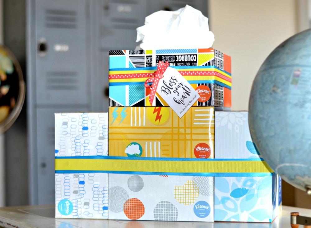Tissue Cake for Teachers