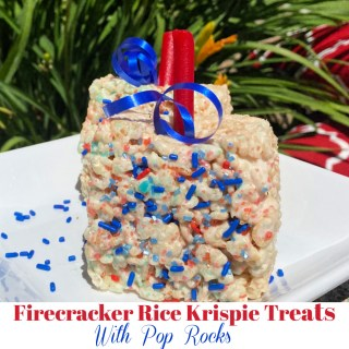 Rice Krispie Treats with Pop Rocks