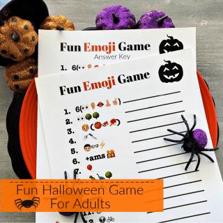 Fun Halloween Game for Adults