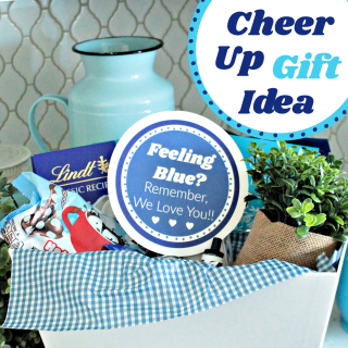 Blue Themed Gift to Cheer Someone Up