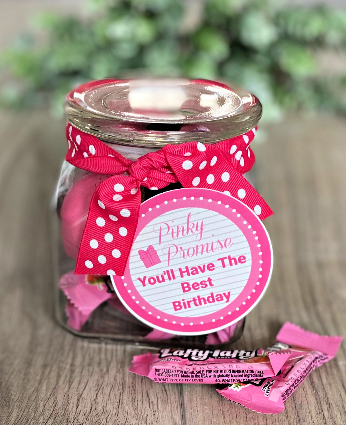Perfectly Pink Simple Birthday Gift
