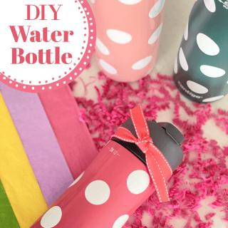 Easy DIY Water Bottle Gift