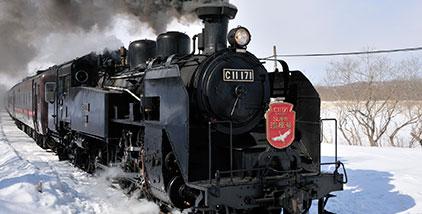 親子で楽しむSL列車の旅