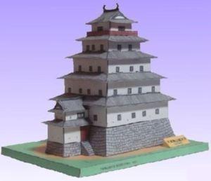 無料で作れるお城のペーパクラフト