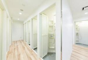 ホットヨガカルド中洲 シャワー室