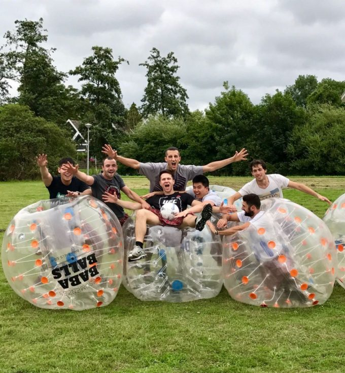 Amsterdam Bubble football and Highland games