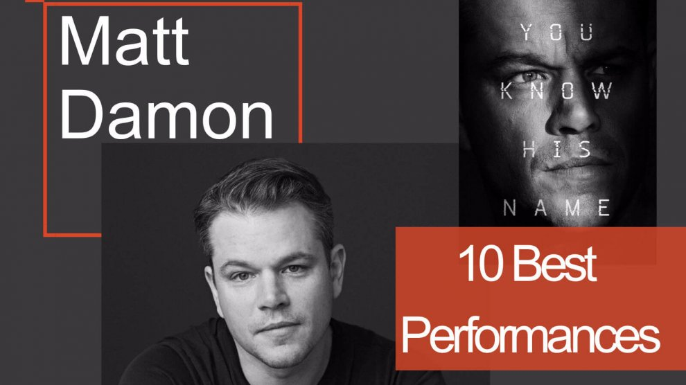 Top 10 Best Movies of Matt Damon
