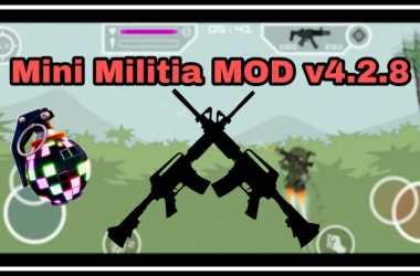 Mini Militia Deathspray MOD v4 1 1 by MNJ [Download]