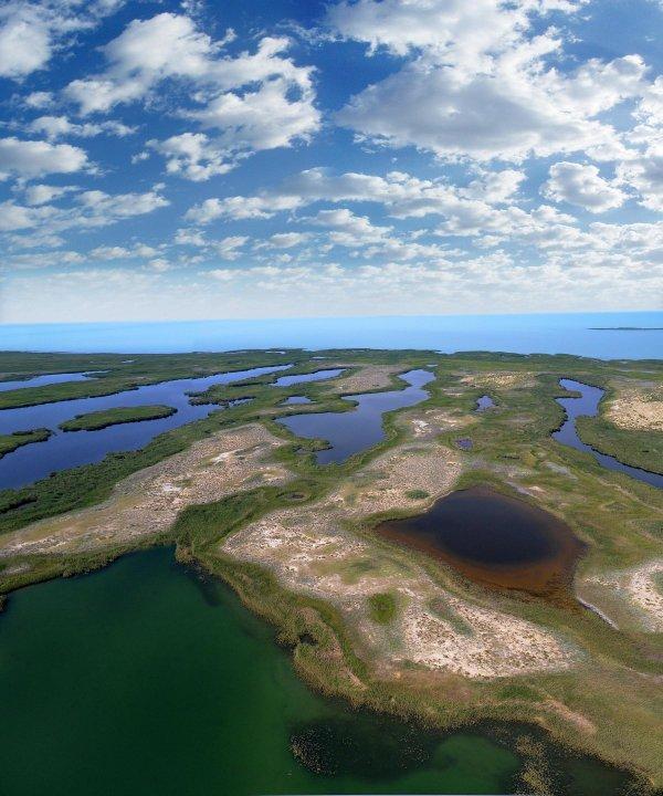 Балхаш Озеро, Казахстан (22 фото)