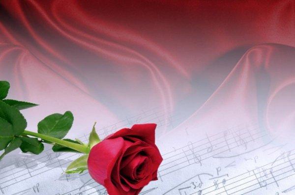 Фоны для поздравлений на тему музыки (33 фото)