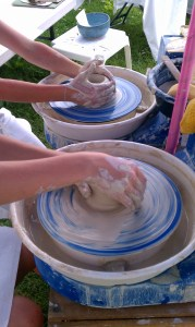 Pottery Wheels in Action