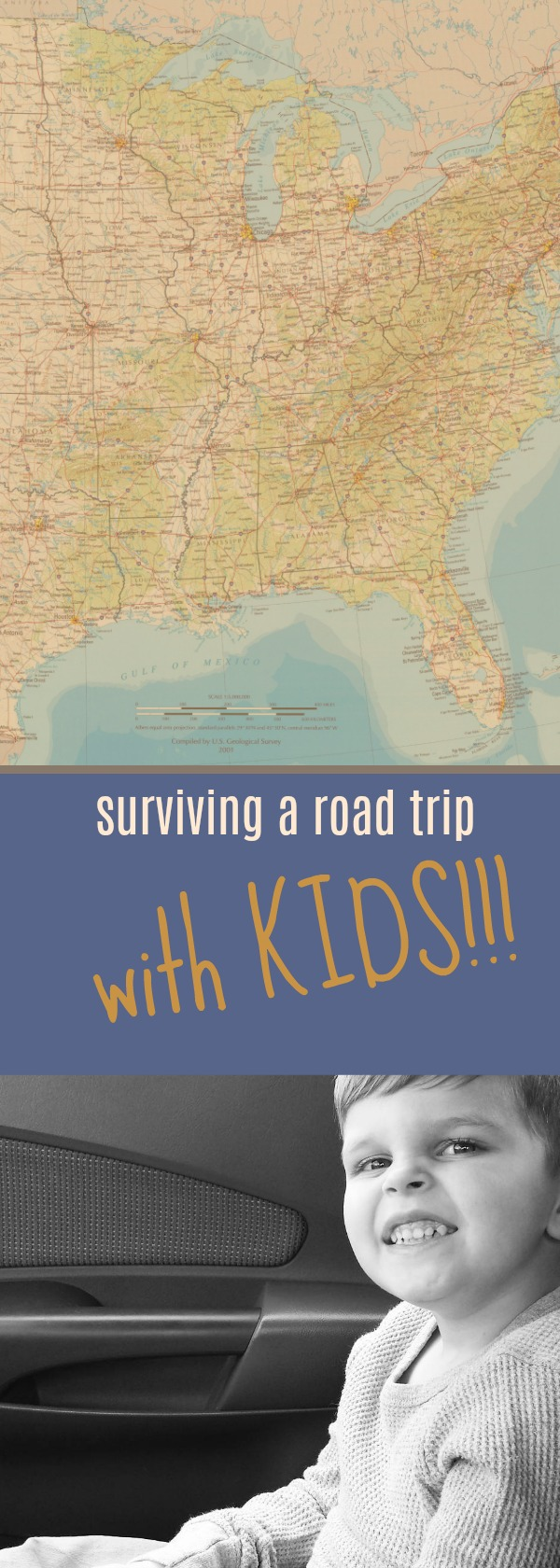 How To Not Go Crazy During a Road Trip With Kids from @FunAsYouGrow
