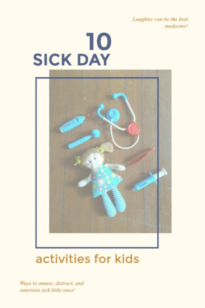 10 Simple Sick Day Activities for Kids from @FunAsYouGrow