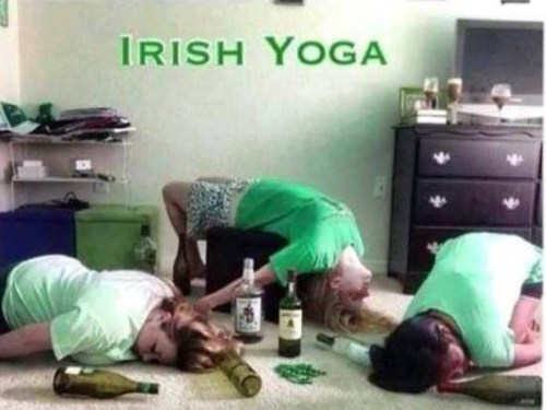Irish Yoga…