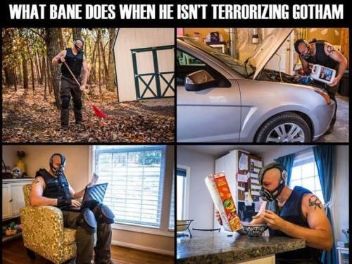 Bane random day