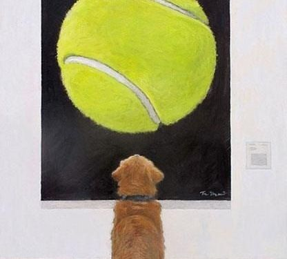 Dogs and art