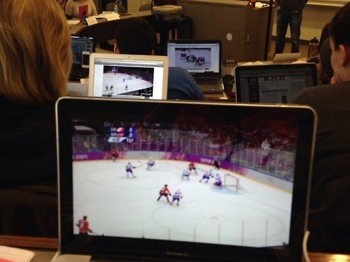 This is What Canadian Classrooms Worldwide Look Like During the Olympics