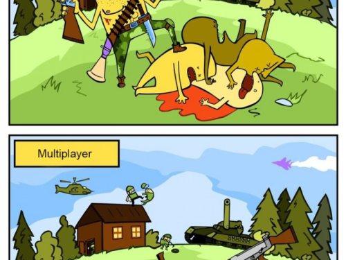 Single player vs. Multiplayer