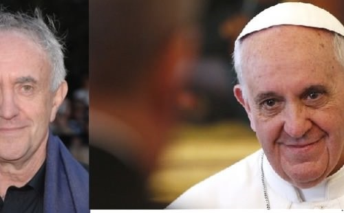 If a movie is made about pope Francis I know who will play him.