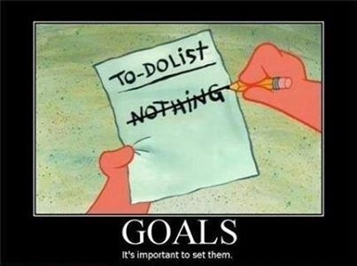 It's important to set goals