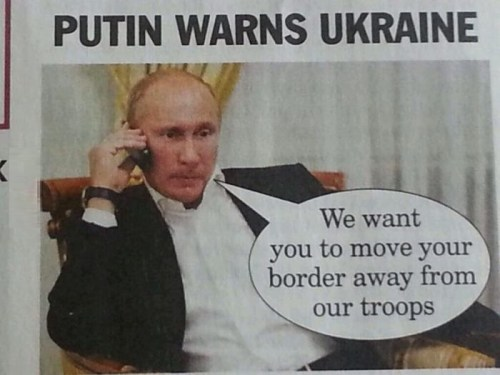 Putin warns Ukraine