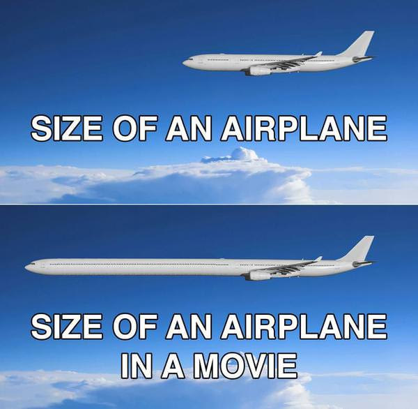 Movies that take place inside an airplane.