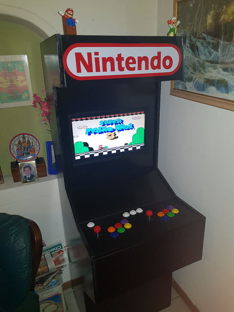 My self-made arcade machine (11000 games) want to continue building more for the fun of it. Thoughts?