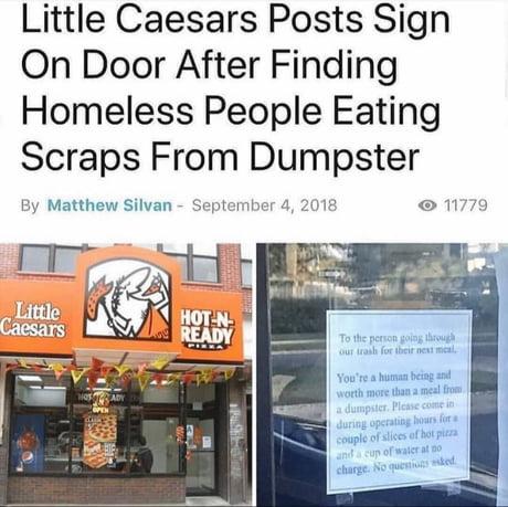 Little caesars doing it right