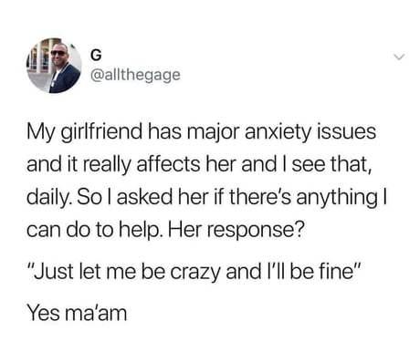 Yes ma'am