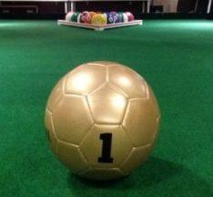 Mega voetpool - poolball tafel