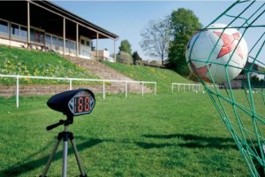 snelheidsmeter voetbal en sport