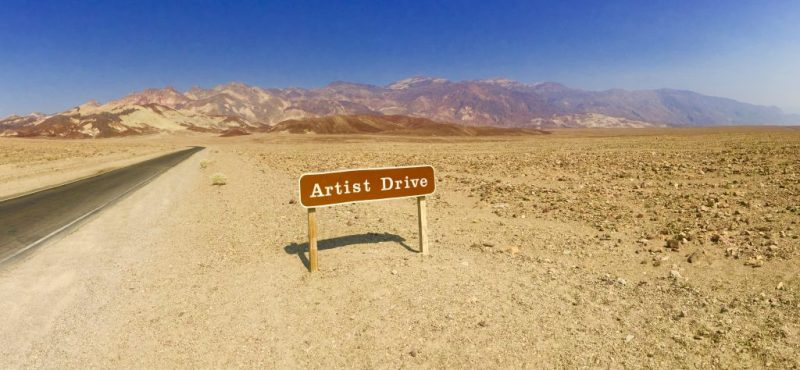 Death Valley Artist Drive