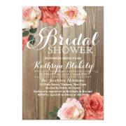 Rustic Roses Bridal Shower
