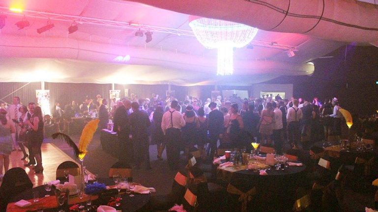 Corporate function fun casino at Twin Waters, Maroochydore, Sunshine Coast.