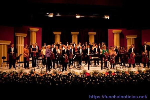 A formação da Orquestra Clássica da Madeira