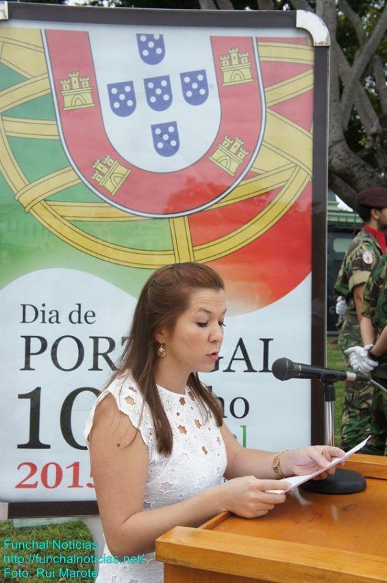 Isabel Silva, lusodescendente nascida no Equador, falou do desafio em partilhar heranças culturais.