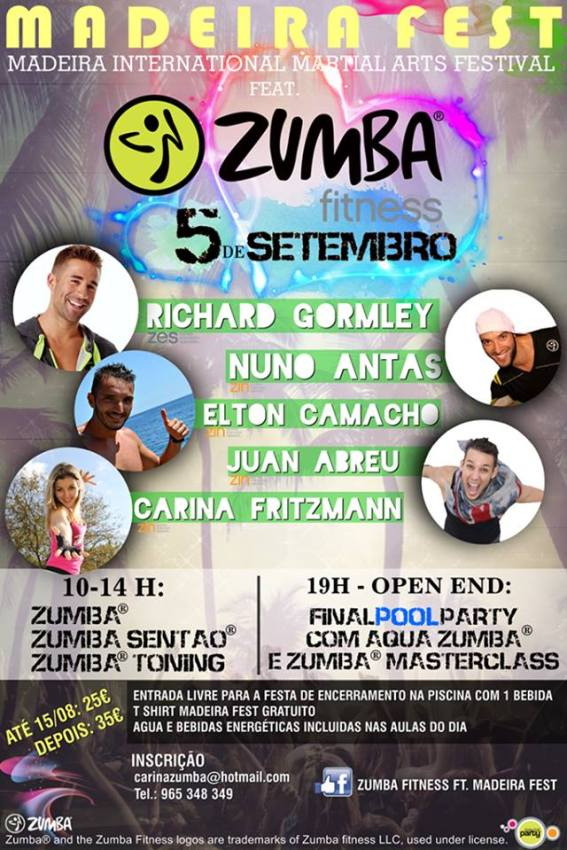 mADEIRA FEST ZUMBA 2015