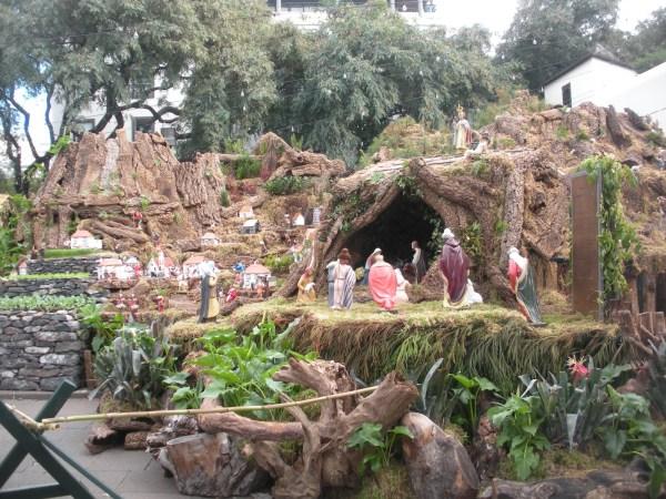 As lapinhas e presépios trazem à cidade às vivências da Festa.