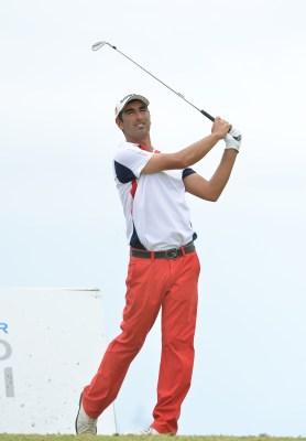 Tiago Cruz, o melhor português. (Helder Santos/ASpress)